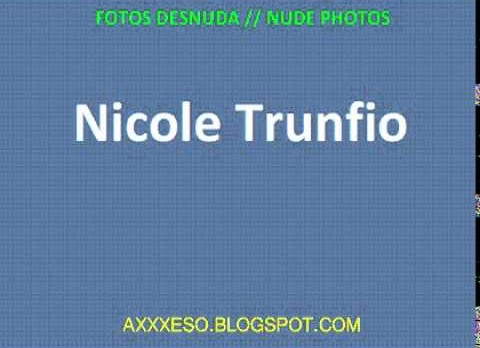Nicole Trunfio Fotos Desnuda Link Online y Descarga